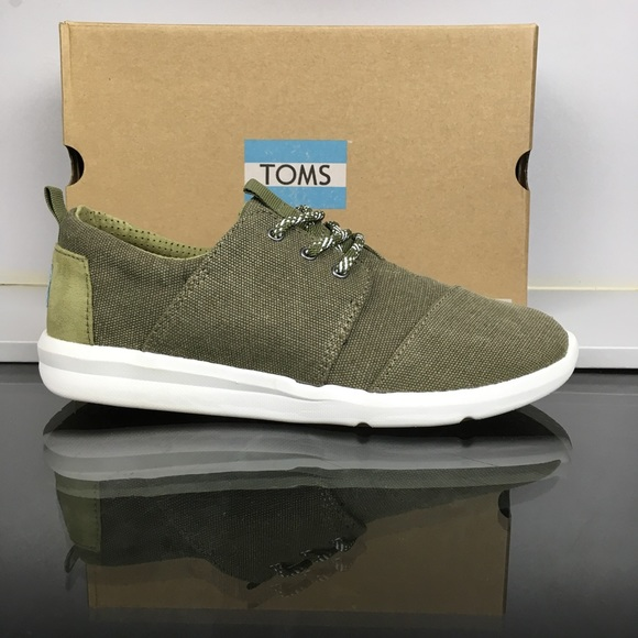 Toms Shoes | Toms Olive Washed Canvas